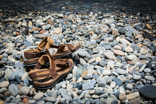 Buty do pływania - Chorwacja z dzieckiem