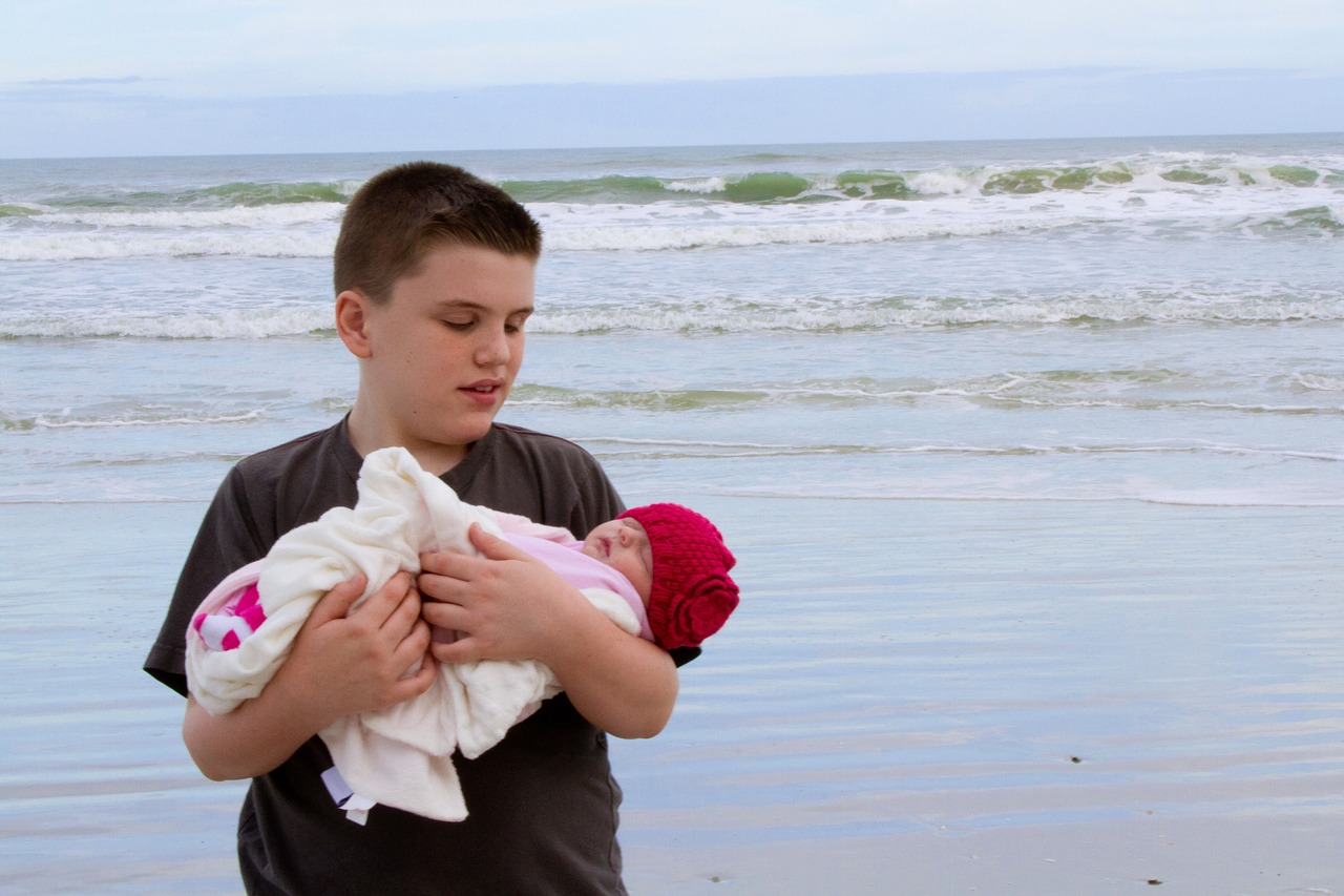 Chorwacja z 6 miesięcznym dzieckiem